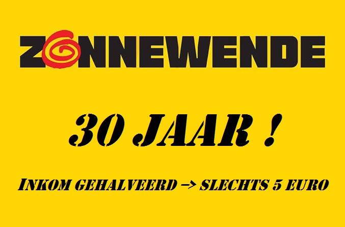 zonnewende 30 jaar prijs gehalveerd
